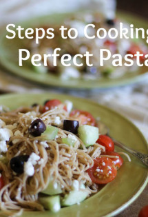 3 Steps to Cooking Perfect Pasta