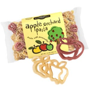 Apple Orchard Pasta Bag with pasta pieces
