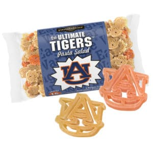 Auburn Pasta Bag with pasta pieces