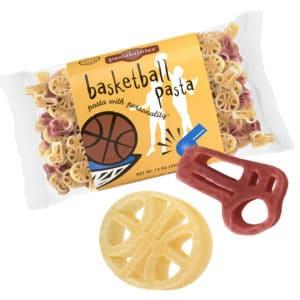 Basketba;; Pasta Bag with pasta pieces