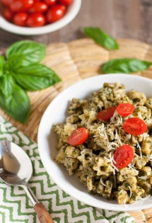 Everyday Basil Parsley Pesto