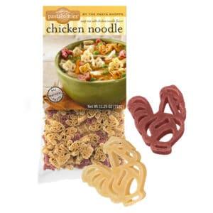 Chiken Noodle Soup Pasta Bag with pasta pieces