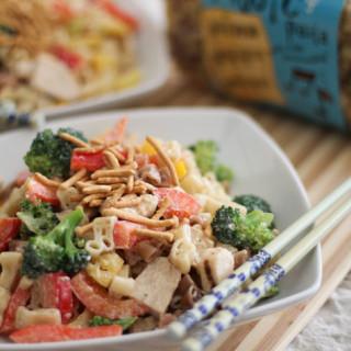 Creamy Oriental Pasta Salad | WorldofPastabilities.com