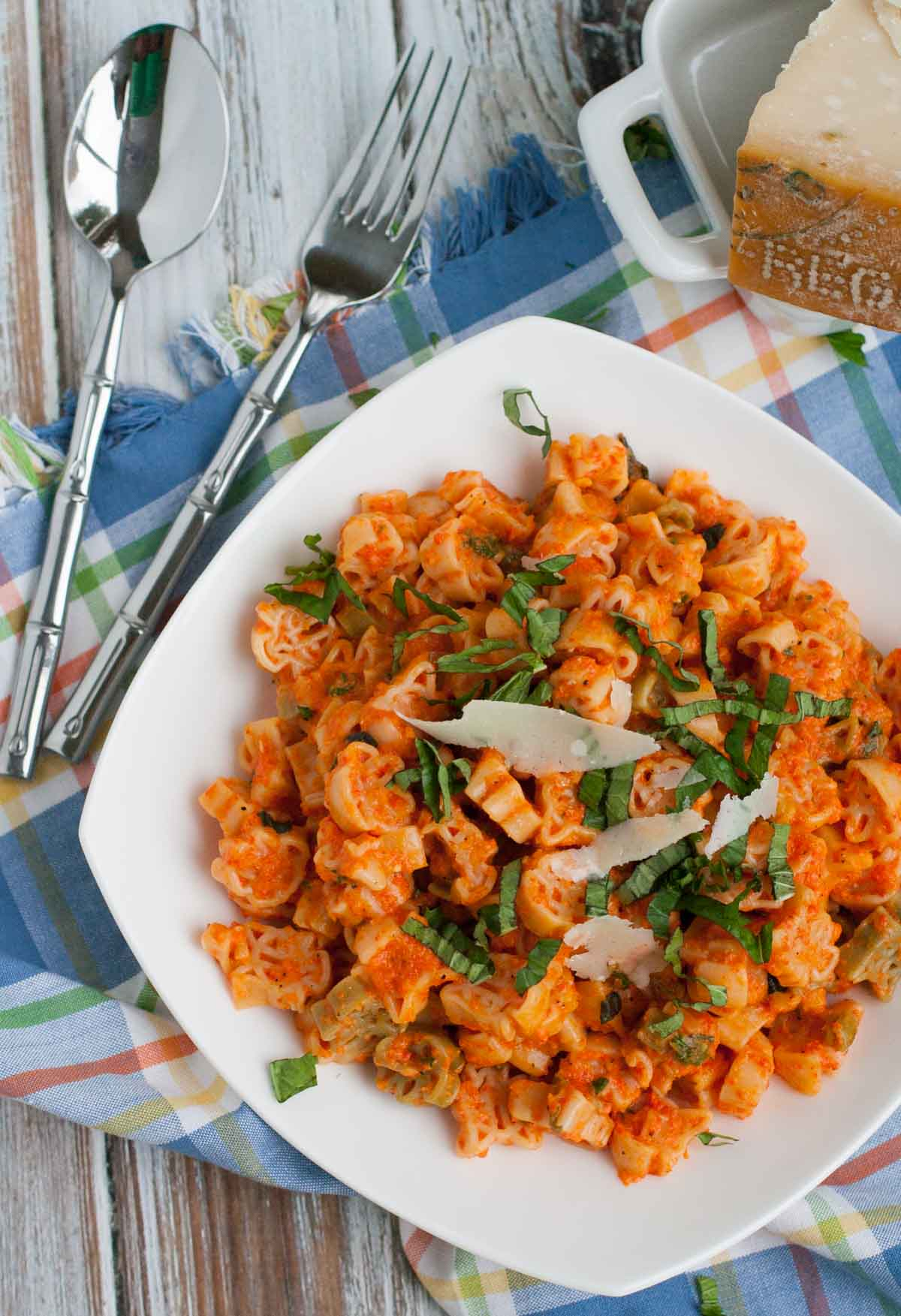 Creamy Roasted Red Pepper Pasta The Pasta Shoppe