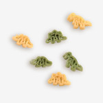 """Dinosaur Noodle Soup has never tasted so good! Our fun """"Dino"""" shapes make all the kids smile. A quick meal ready in 15 minutes! Pasta plus mix included. Shop Now! 