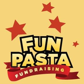 Funpasta Fundraising | Logo with stars
