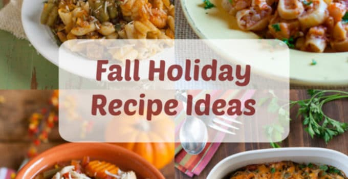 Fall Holiday Recipe Ideas | Four fabulous pasta recipes for your holiday entertaining! | WorldofPastabilities.com