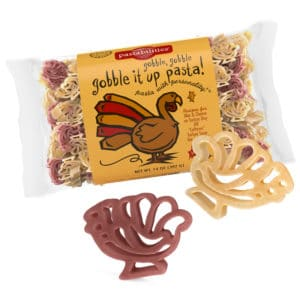 Gobble It Up Pasta Bag with pasta pieces