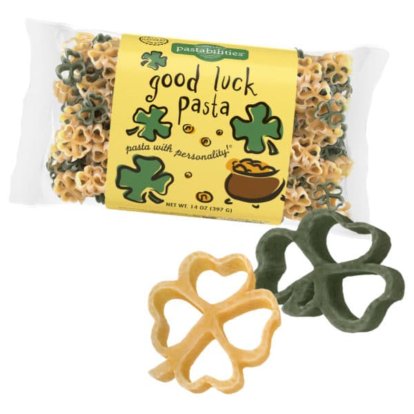 Good Luck Pasta Bag with pasta pieces