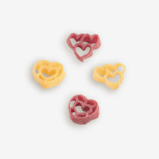 Do your heart good with Eat your Heart out Pasta! Hearts are always fun to eat. Delicious Classic Tomato Basil recipe included to make every event memorable