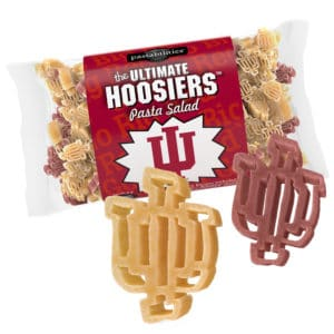 Indiana Hoosiers Pasta Bag with pasta pieces