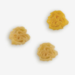"""Start the tradition this weekend with Iowa """"Hawkeyes"""" Pasta Salad! Your own Logo Shaped Pasta with a TOUCHDOWN Vinaigrette Mix included. Shop NOW!!!   Pastashoppe.com"""