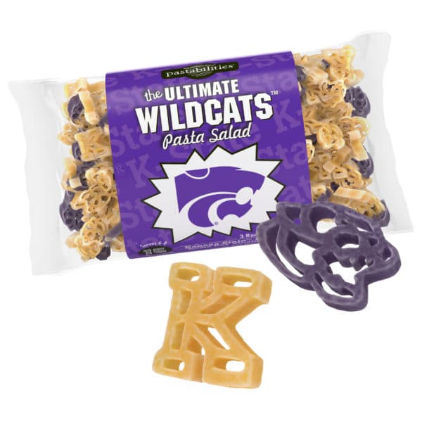 Kansas State ildcats Pasta Bag with pasta pieces