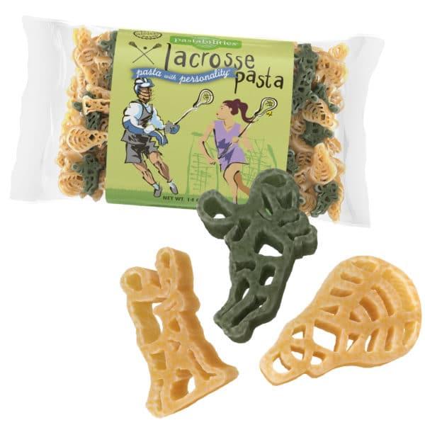Lacrosse Pasta Bag with pasta pieces
