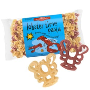 Lobster Time Pasta Bag with pasta pieces