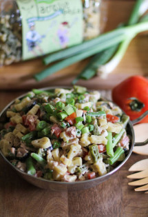 Tuna Salad with Green Beans | WorldofPastabilities.com