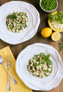 Light and Herby Mediterranean Pasta Salad