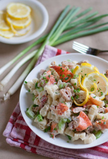 Lobster Pasta Salad | WorldofPastabilities.com
