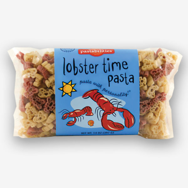 You´ve never had Lobster Pasta Salad like this before! Fun lobster shapes can be enjoyed as a meal at lunch, or a side dish to any seafood dinner.