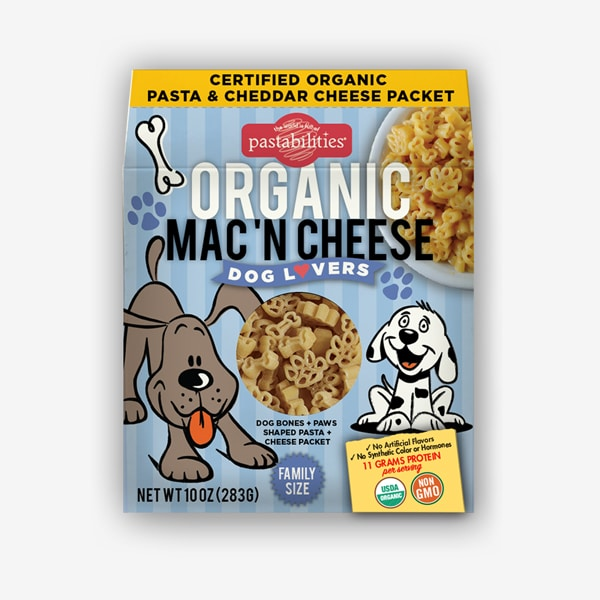 Pastabilities® Organic Dog Lovers Mac 'n Cheese
