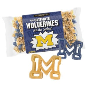 Michigan Wolverines Pasta Bag with pasta pieces