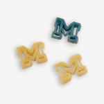 """Start the tradition this weekend with Michigan """"Wolverines"""" Pasta Salad! Your own Logo Shaped Pasta with a TOUCHDOWN Vinaigrette Mix included. 