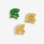 """Start the tradition this weekend Michigan State """"Spartan"""" Pasta Salad! Your own Logo Shaped Pasta with a TOUCHDOWN Vinaigrette Mix included. 