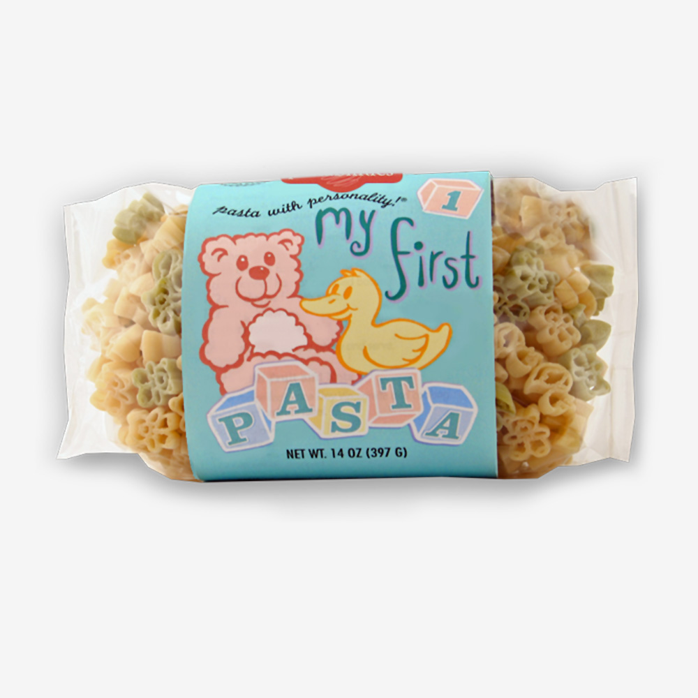 My First Pasta | Teddy Bear & Duck Shapes | The Pasta Shoppe