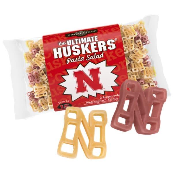 Nebraska Huskers Pasta Bag with pasta pieces