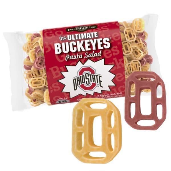 Ohio State Pasta Bag with pasta pieces