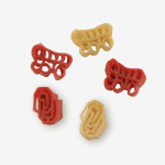 """Start the tradition this weekend with Oklahoma """"Sooners"""" Pasta Salad! Your own Logo Shaped Pasta with a TOUCHDOWN Vinaigrette Mix included. Shop NOW! 