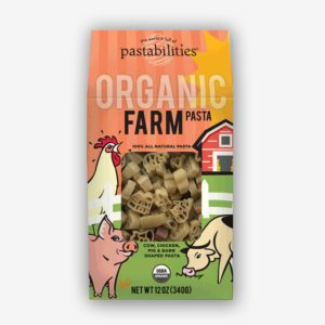 Organic Farm Pasta | Chickens, cows, pigs, and barns - Farmer Brown is so proud! | Pastashoppe.com