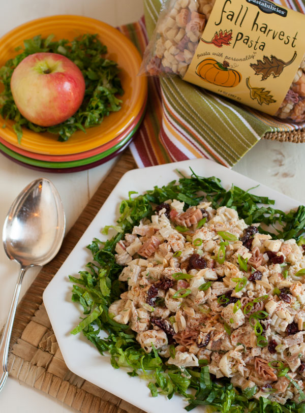 Pasta with Tuna, Apple, and Dried Cranberries | A wonderful lunch or snack any time of the year! Crunchy & healthy, it'll be your new family favorite! | WorldofPastabilities.com
