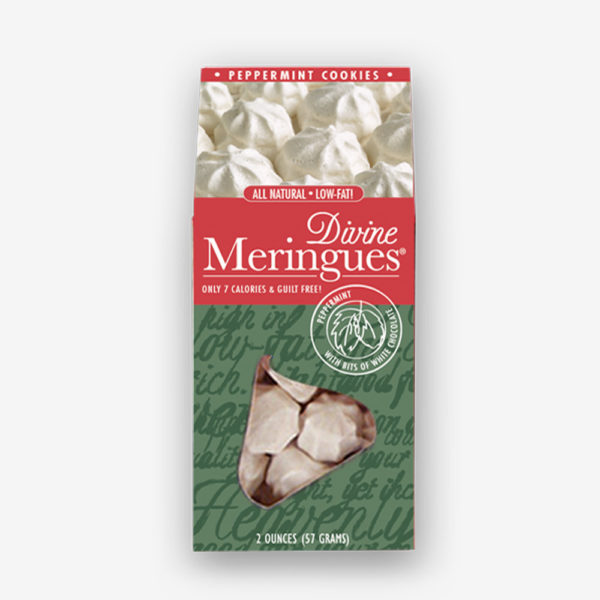Peppermint Meringues
