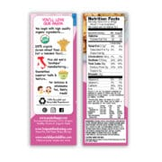 Princess Organic Mac and Cheese Nutrition Facts