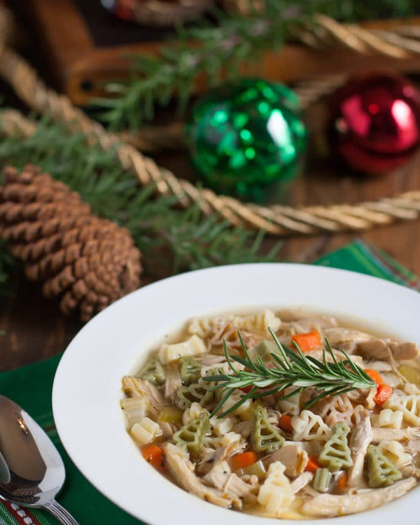 Quick-Holiday-Chicken-Noodle-Soup-2