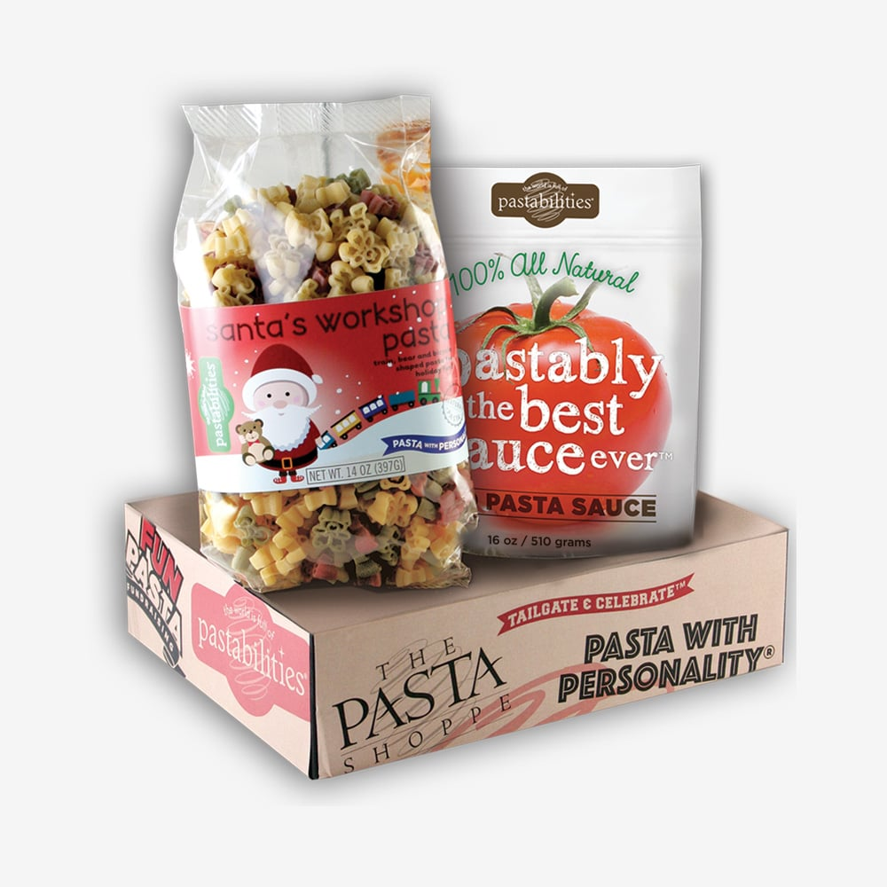 Santas Workshop Pasta Sauce Gift Box