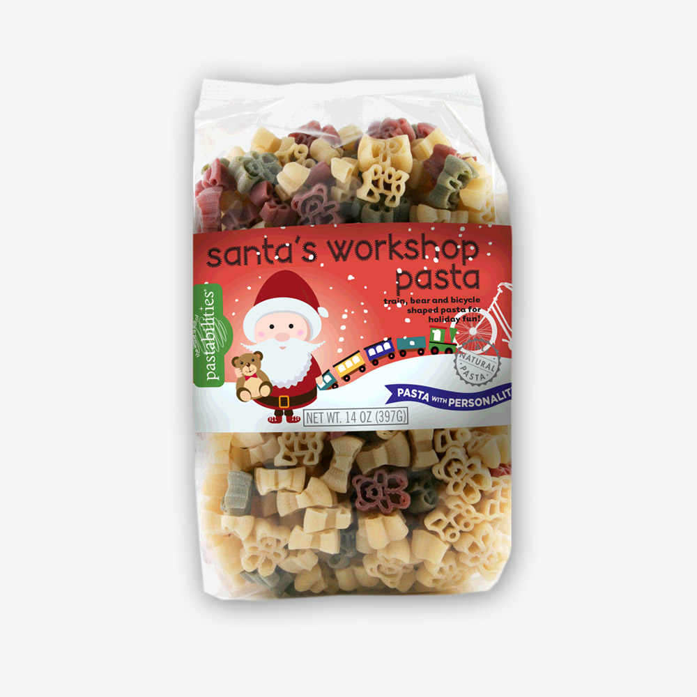 Santa's Workshop Pasta | pastashoppe.com