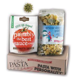 Snow Days Pasta and Sauce Gift Box