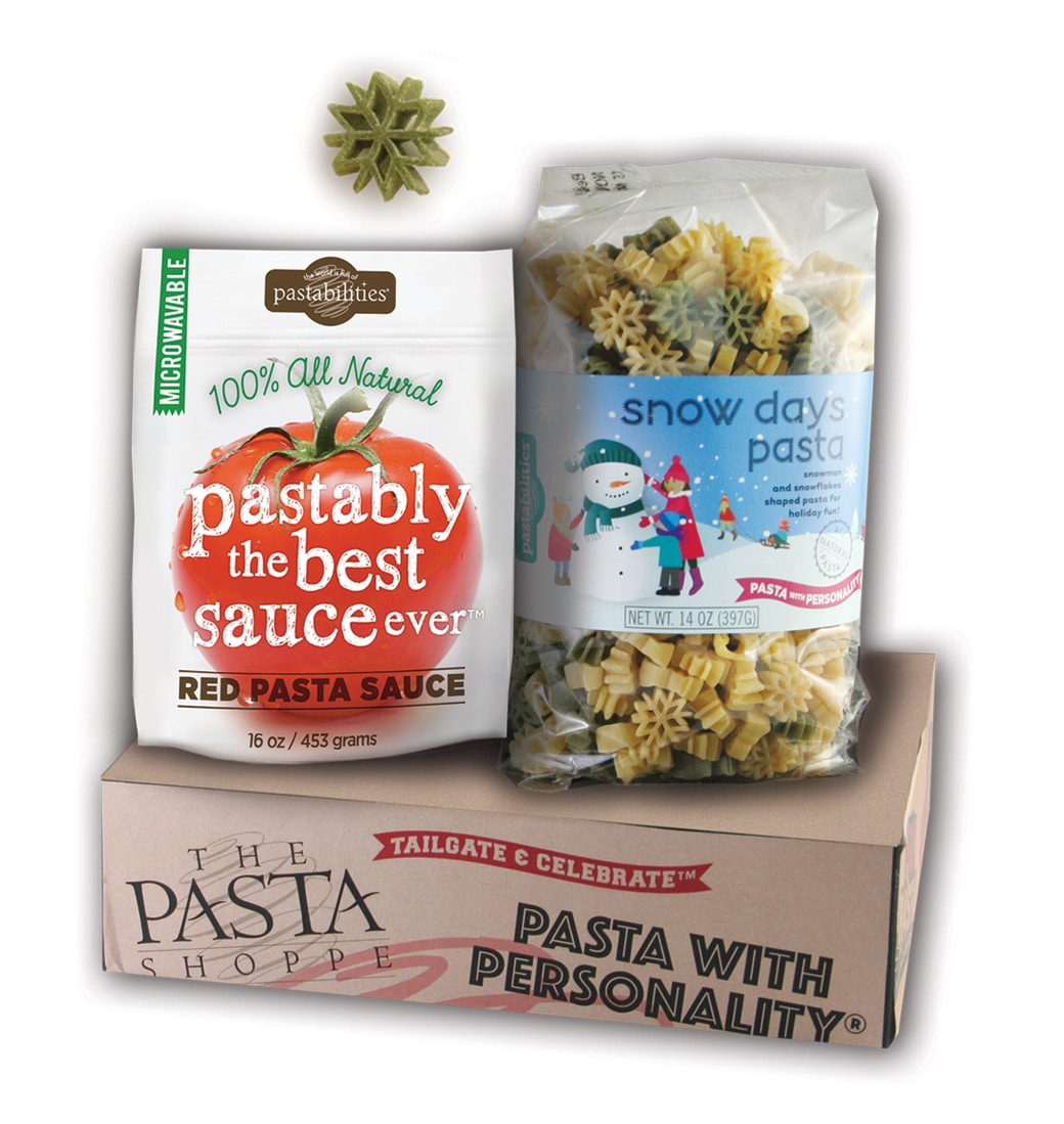 Snow Days Pasta and Sauce Gift Box