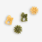 Snowman- snowflakes Pasta Shapes used in our snowman pasta has been a best seller for years! Shop NOW!