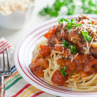 Spaghetti and Meatball | WorldofPastabilities.com