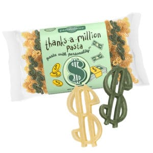 Thanks A Million Pasta Bag with pasta pieces