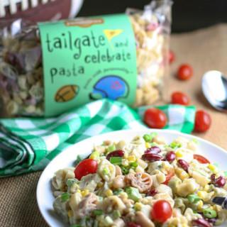Tailgate Pasta with Beans and Corn | WorldofPastabilities.com
