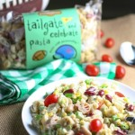 Tailgate Pasta with Beans and Corn