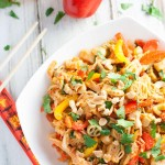 Thai Chicken Pasta | WorldofPastabilities.com