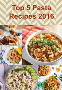 Top 5 Pasta Recipes of 2016
