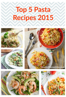 Top 5 Pasta Recipes 2015