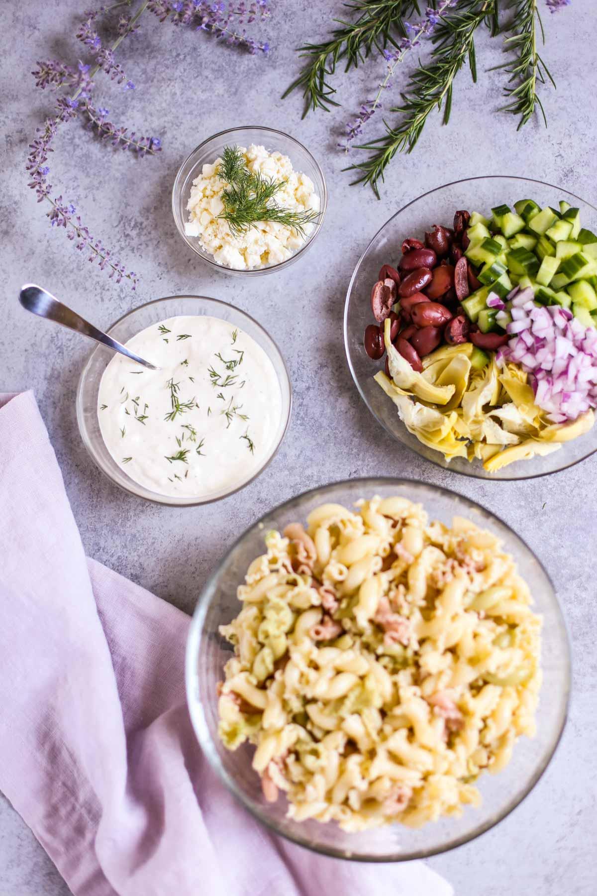Tzatziki Pasta Salad 22