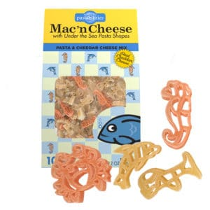 Under the Sea Mac and Cheese Pasta Box with pasta pieces